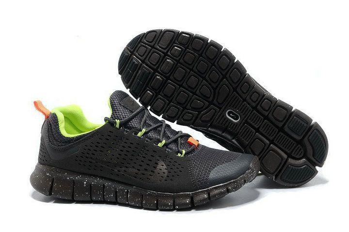 huge selection of 88bd8 6048e Nike Free Powerlines II Womens Dark Grey Total Orange Volt 555306 220 GREAT SHOES  CHEAP SALE