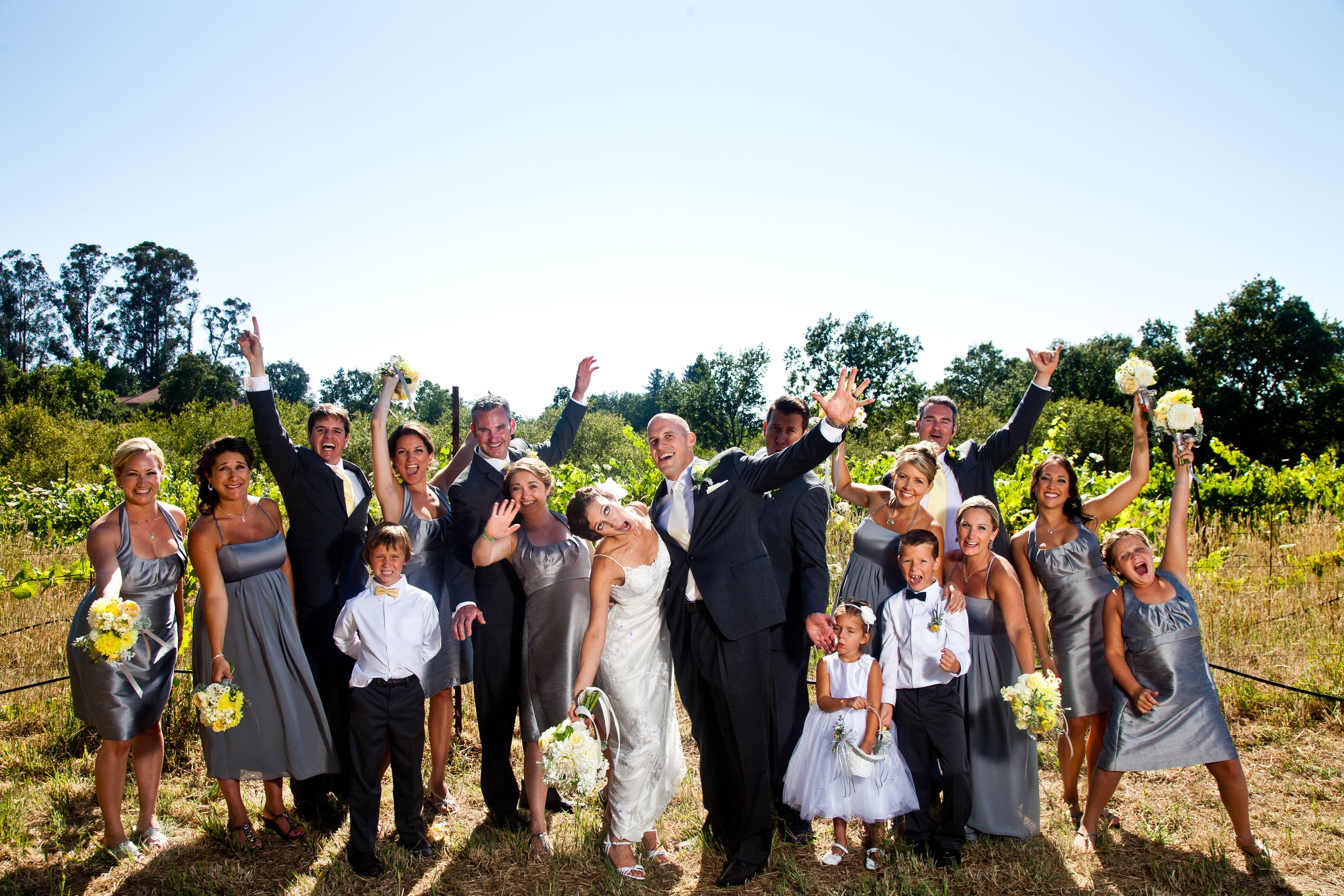 Wedding At Russian River Vineyards Photo By Bustle Twine