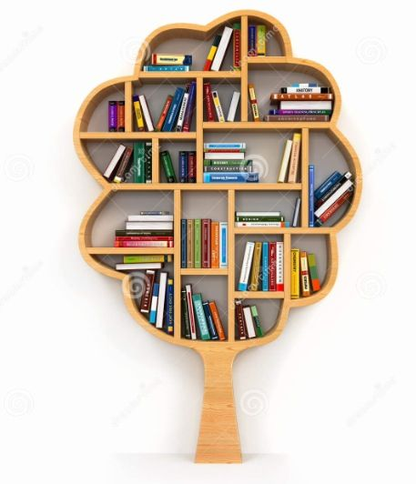 Tree Bookshelf Bookshelves Diy Creative Bookshelves Bookshelf Design