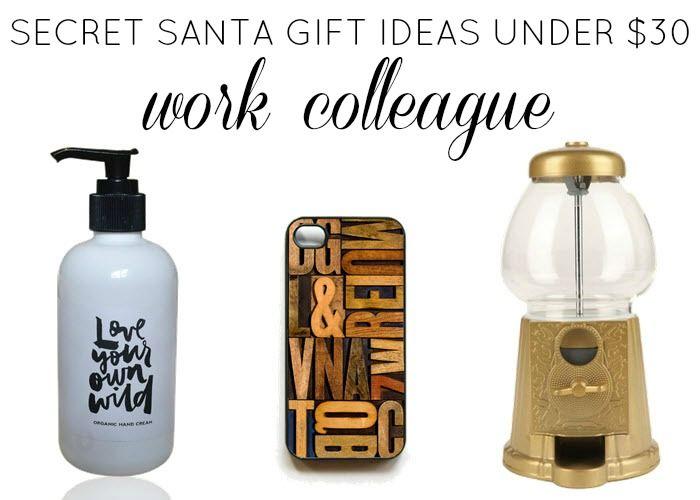 Secret Santa Gift Ideas Under $30: Work Colleague