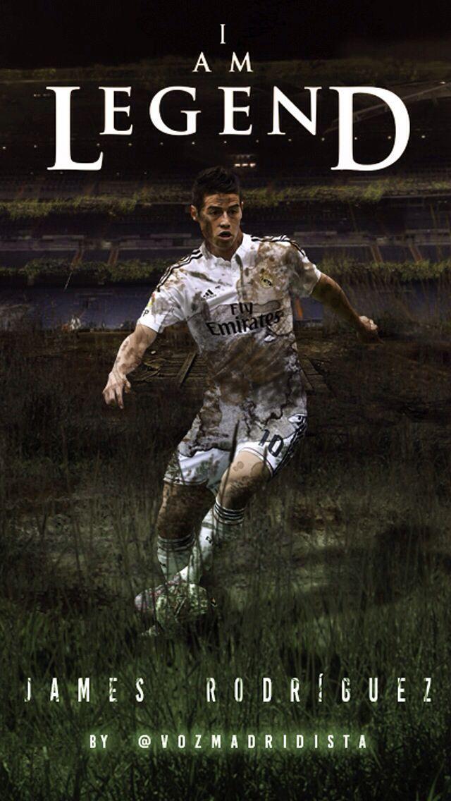 James Rodriguez I Am Legend Version Iphone Wallpaper James Rodriguez Futbol Jamar
