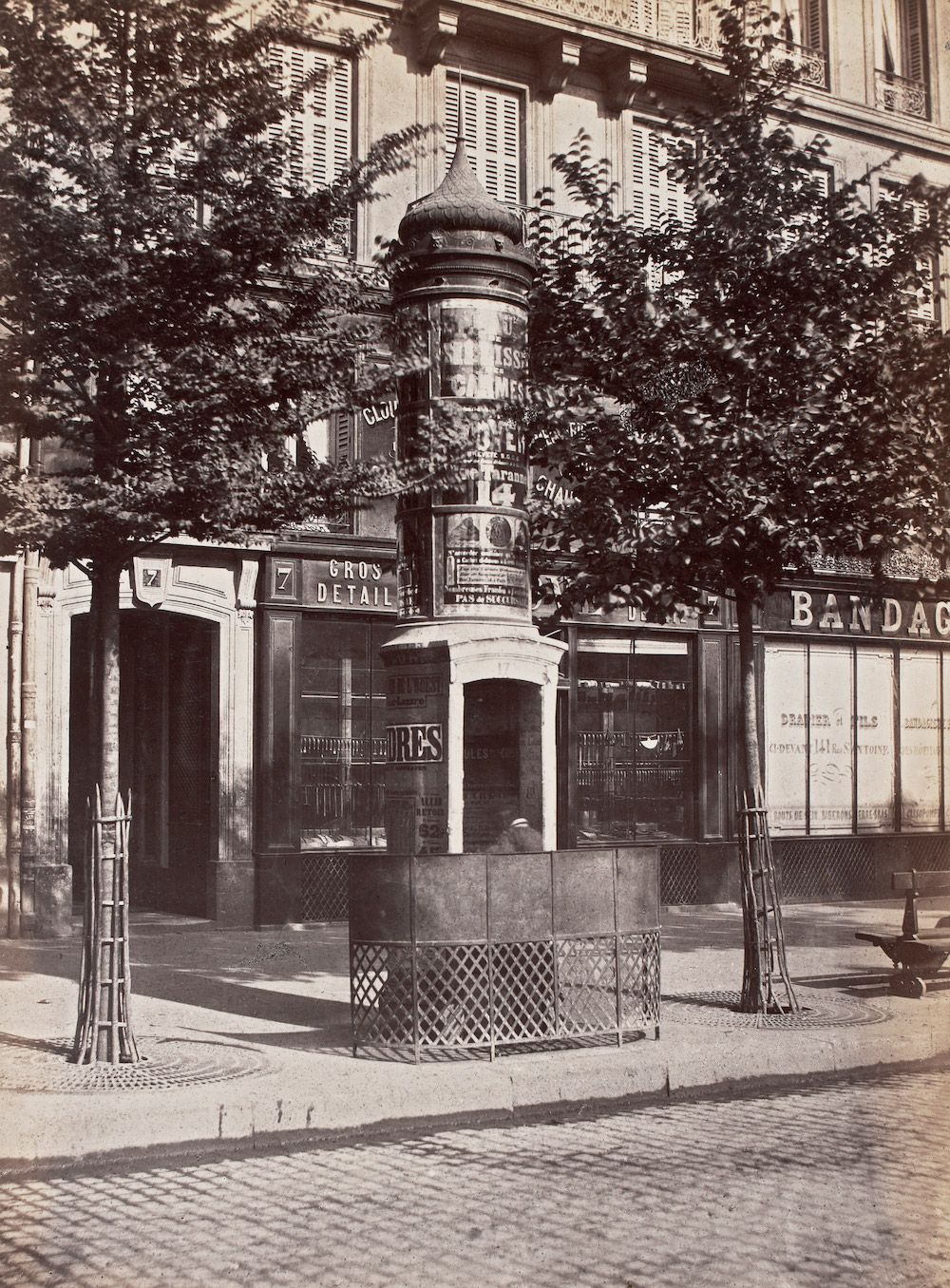 Prettiest Pissoirs Of Bygone Paris Street Shops