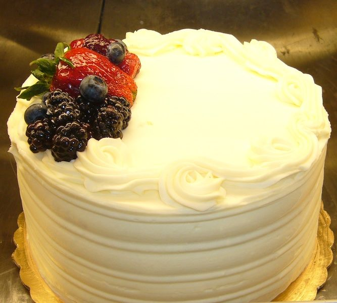 Four Layer Cake with Crème Chantilly & Berries | Recipe | Imperial ...