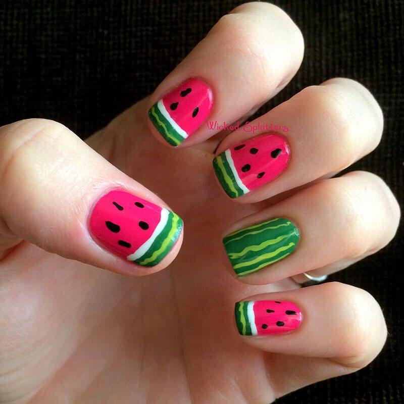 unas decoradas para verano (7) | bonitas | Pinterest | Verano ...
