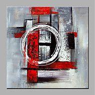 Pintada a mano Abstracto Modern Lienzos Pintura al óleo pintada a colgar Decoración hogareña Un Panel