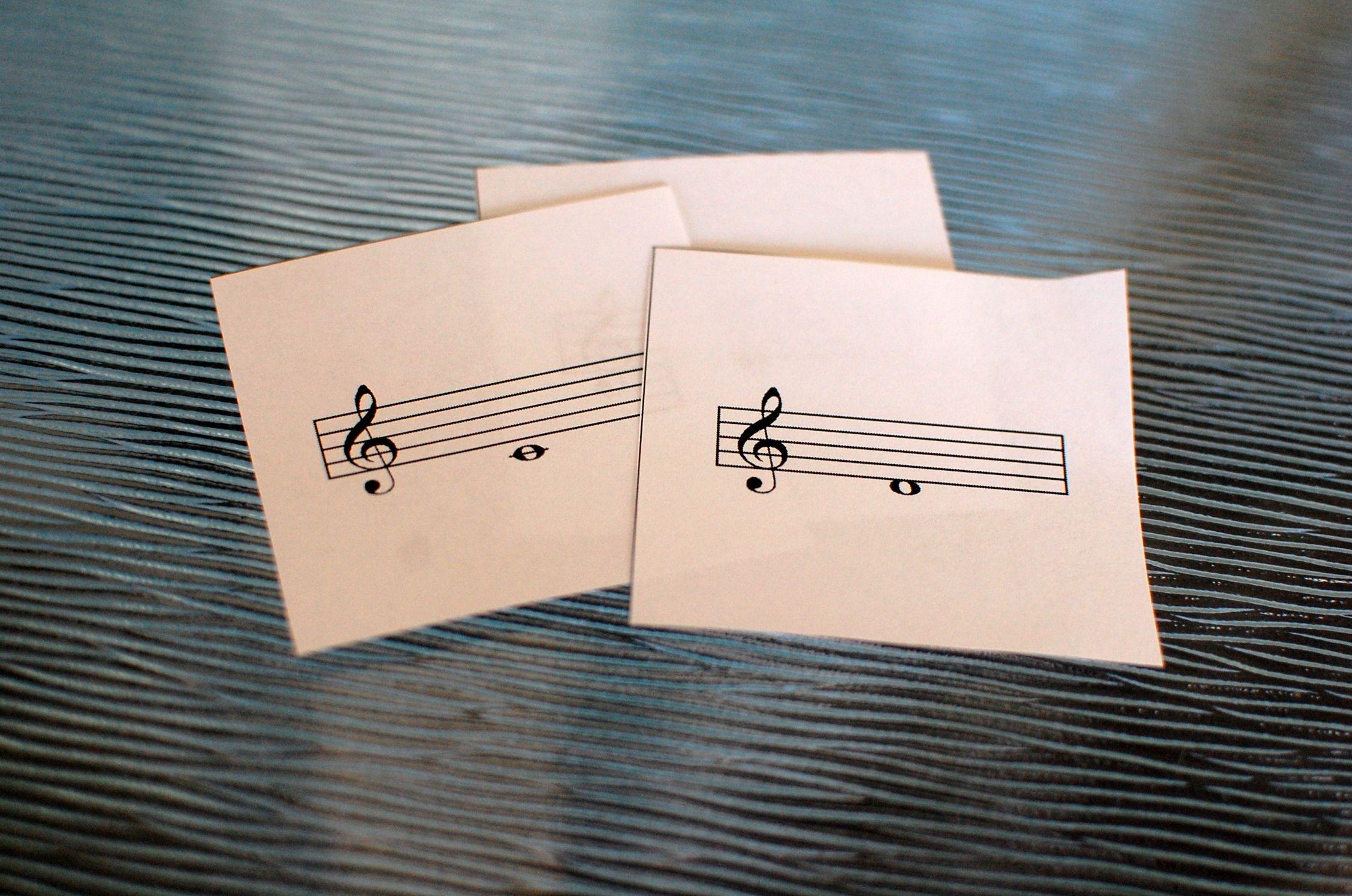 music theory printables