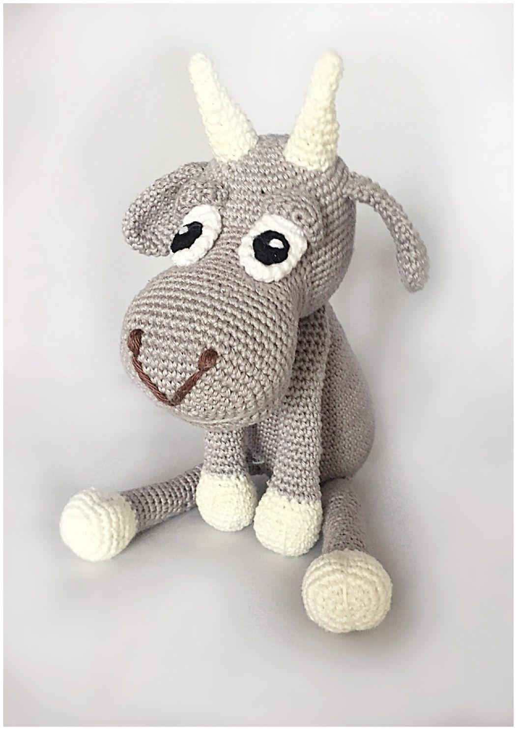 Goat Gijs pattern by by Alinies | Patrones amigurumi y Patrones