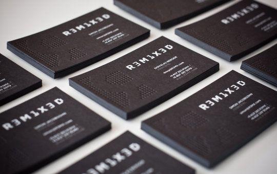 Business Card Design: R3M1X3D - Business Card Design | Prints ...