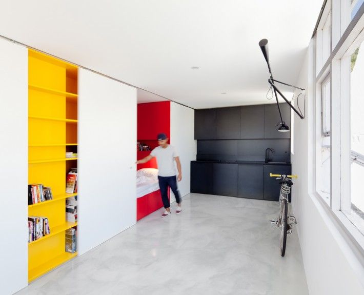 Located In Sydney Australia Designed By Nicholas Gurney The Project Is An Exercise Modest Low Cost Good Quality Design That Can Be Affordable