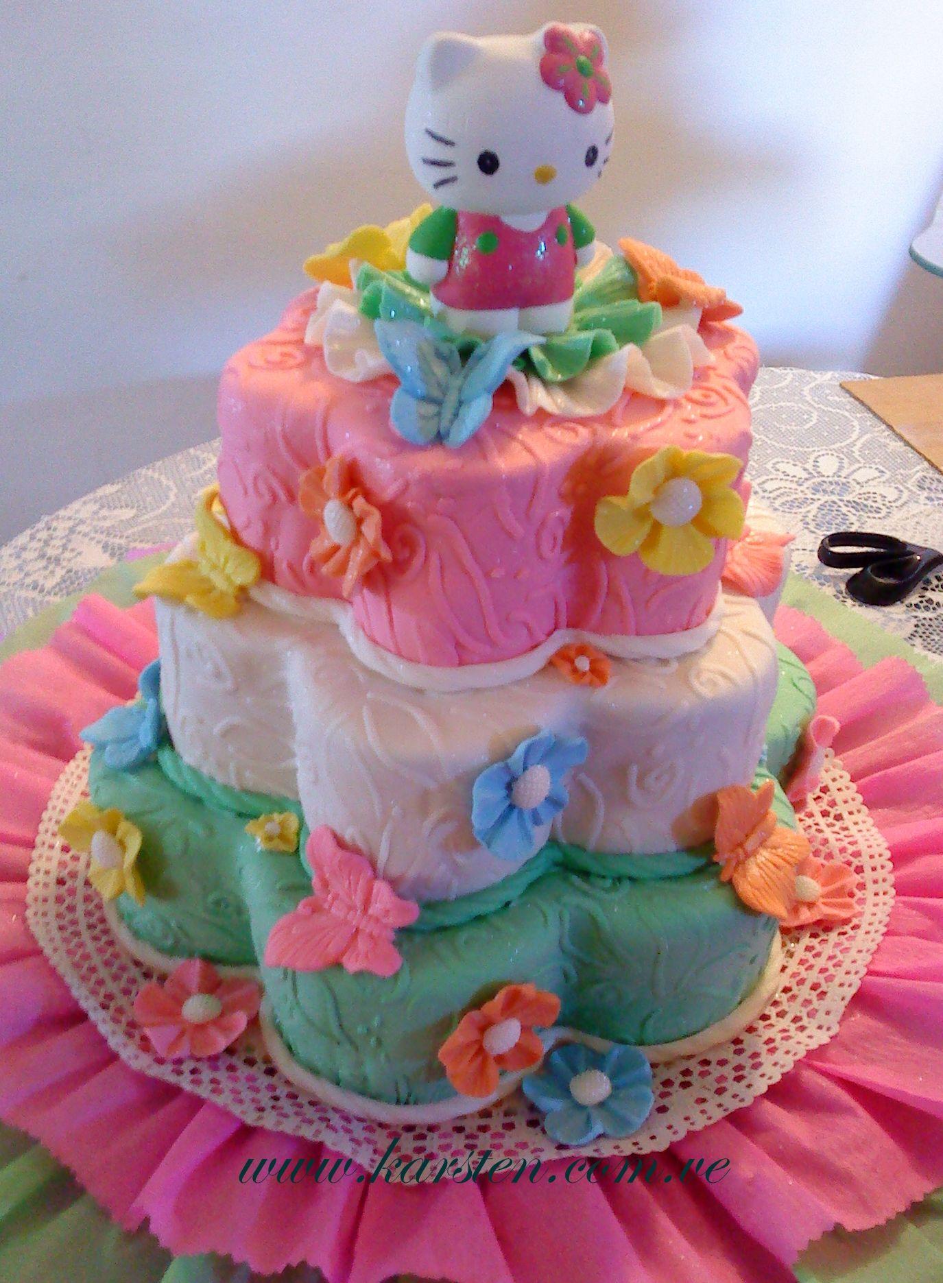 Kitty Decoracion De Tortas ~ Torta de Hello Kitty  CAKES  Pinterest