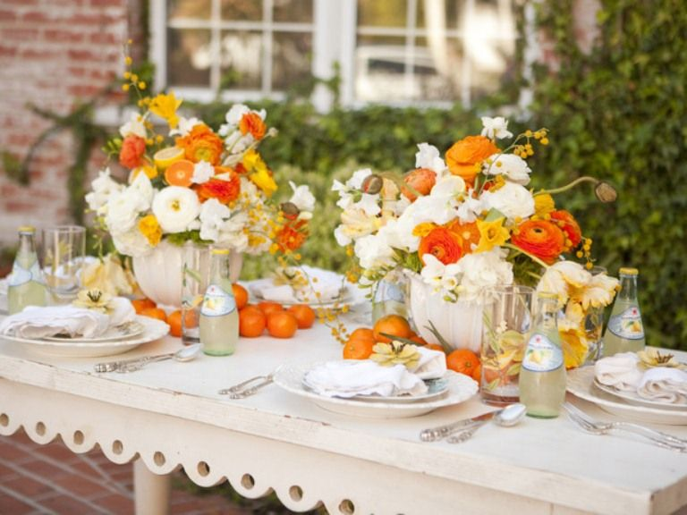Trendy Images About Table Decor Only On Pinterest White Dining With Table  Decorations.