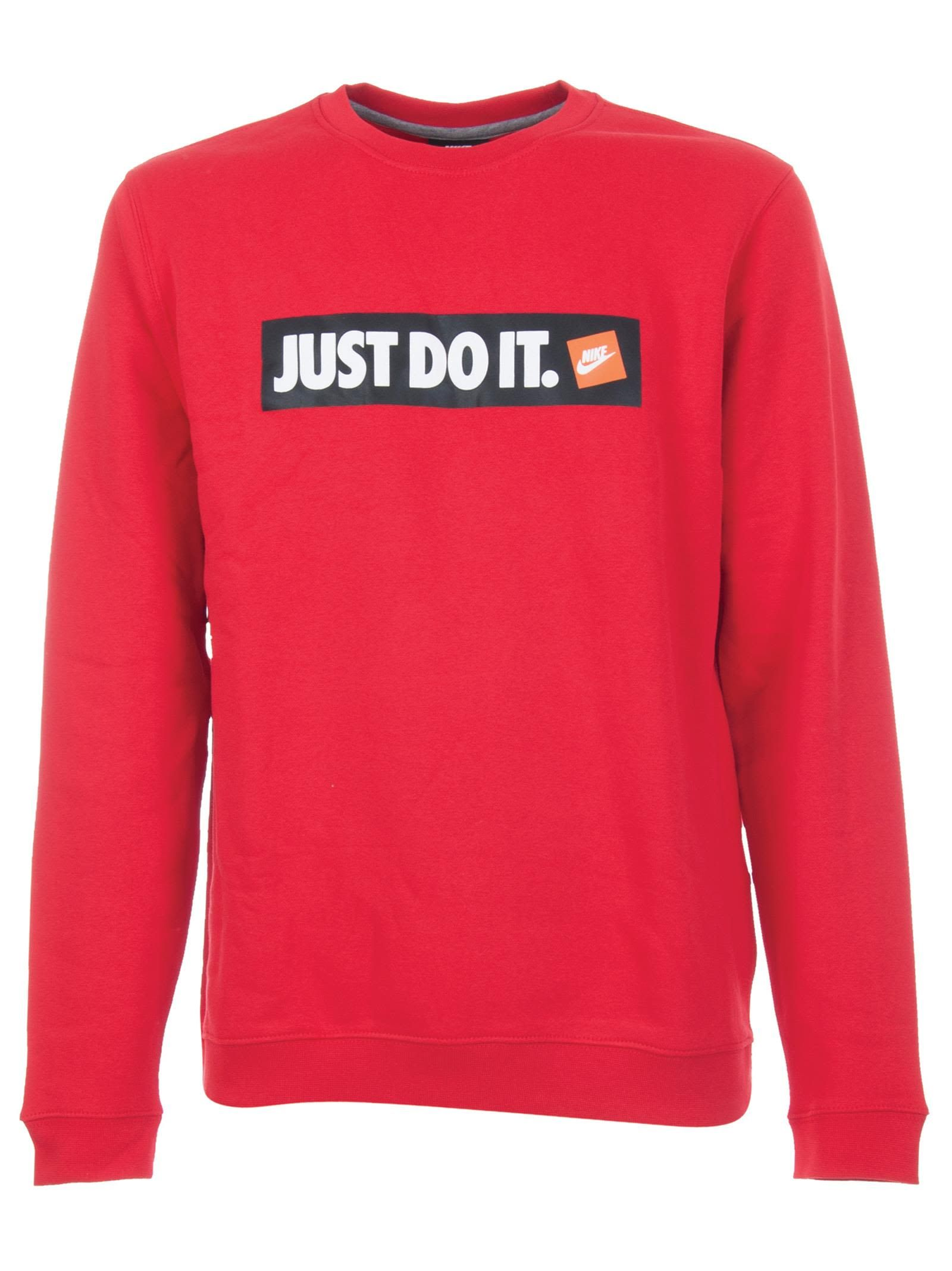 d1d5d6fa NIKE JUST DO IT CREWNECK. #nike #cloth | Nike in 2019 | Nike, Nike ...