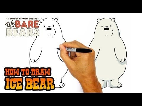 How To Draw Grizzly We Bare Bears Step By Step Art Lesson