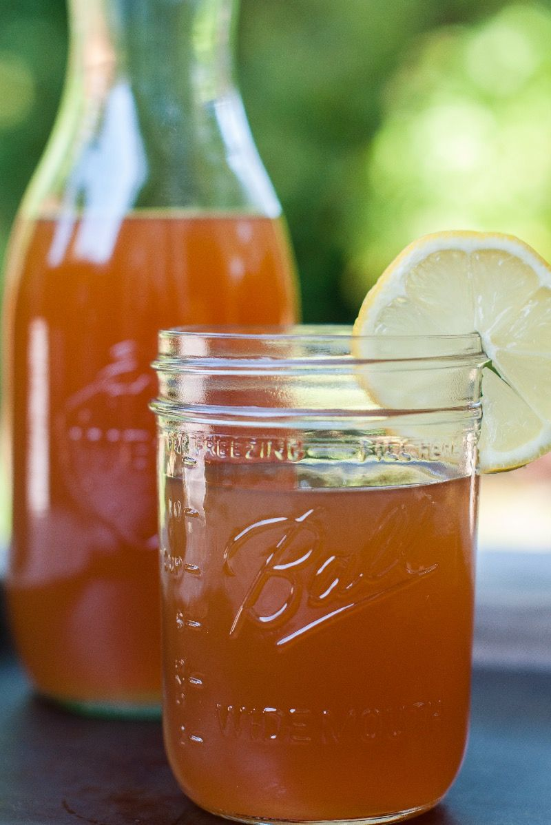 I'm making a toast to my dad, aka, Papa Bear today. Cheers Dad, this post and recipe is dedicated to you. This iced tea recipe came from my dad, and it was one of my favorite growing up summertime drinks. You knew it was summer when my dad made up a pitcher of this sun …