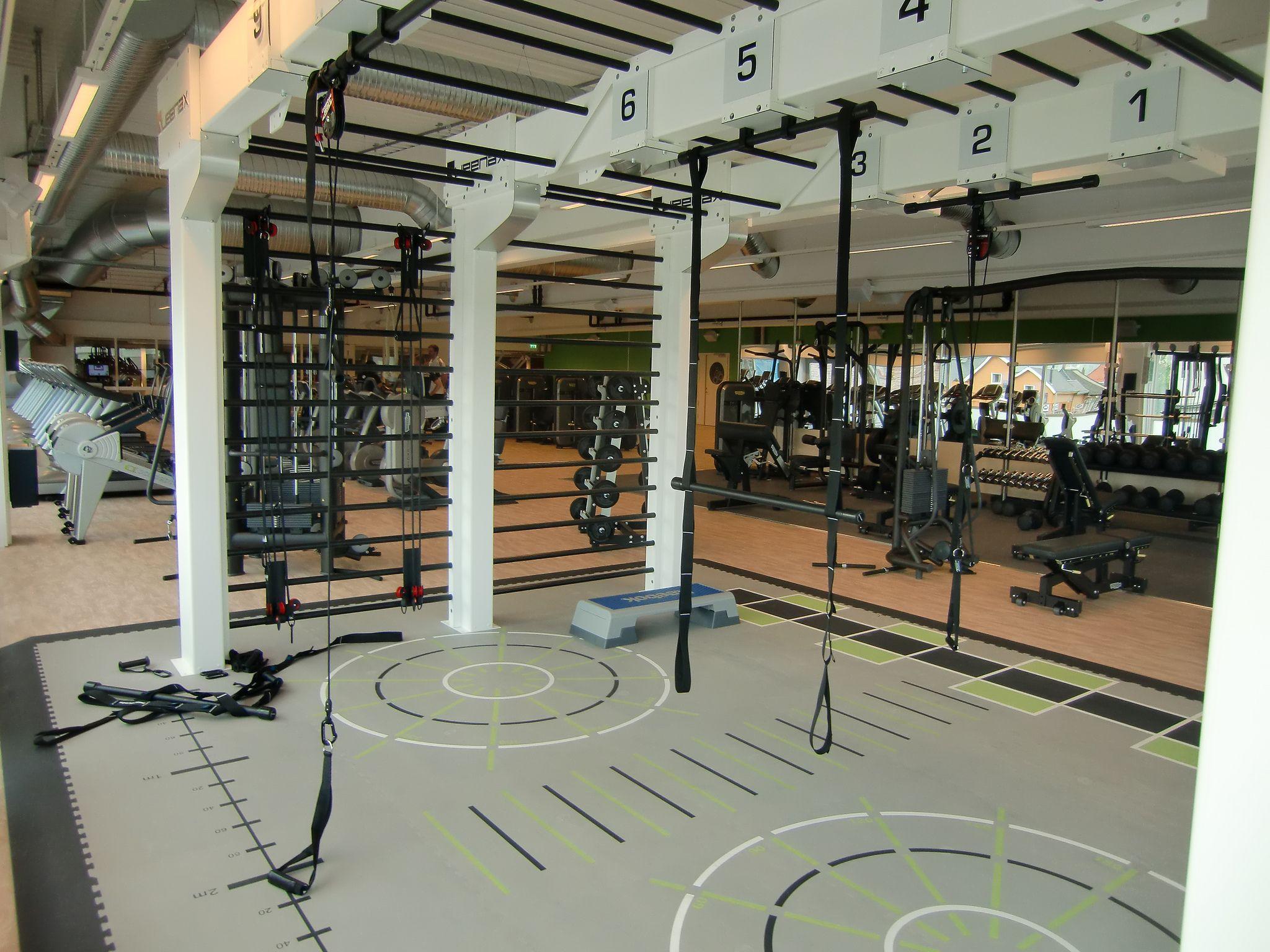 Functional Zone Gym Decor Gym Design Gym Room