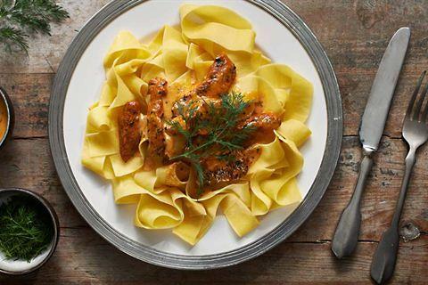 Makaron Z Kremowym Kurczakiem Przepis Recipe Cooking Food Yummy