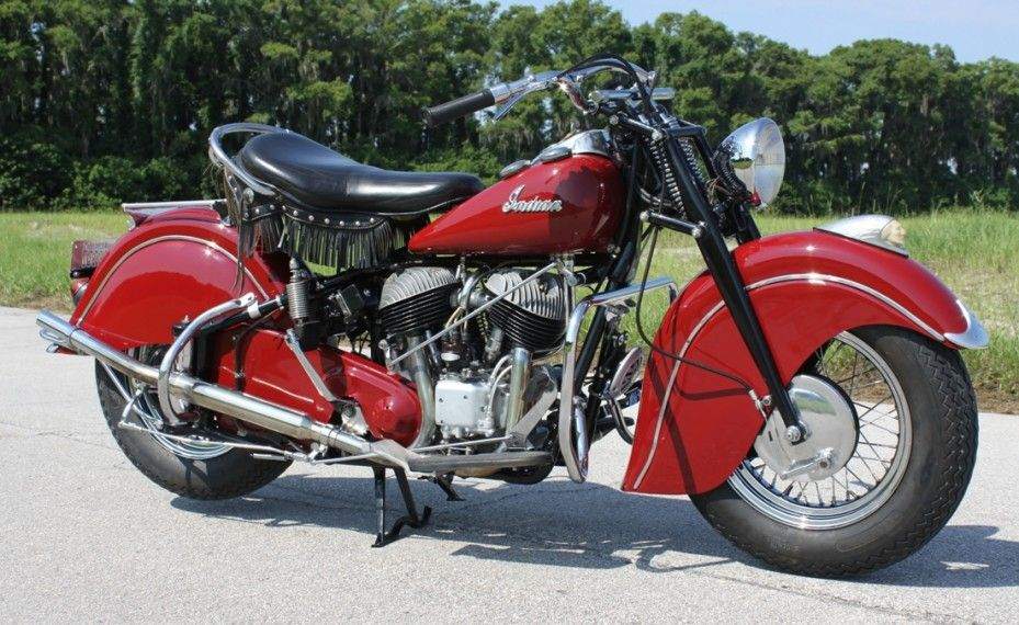 1947 Indian Chief Classic Motorcycle Pictures Classic Motorcycles Indian Chief Classic Vintage Indian Motorcycles