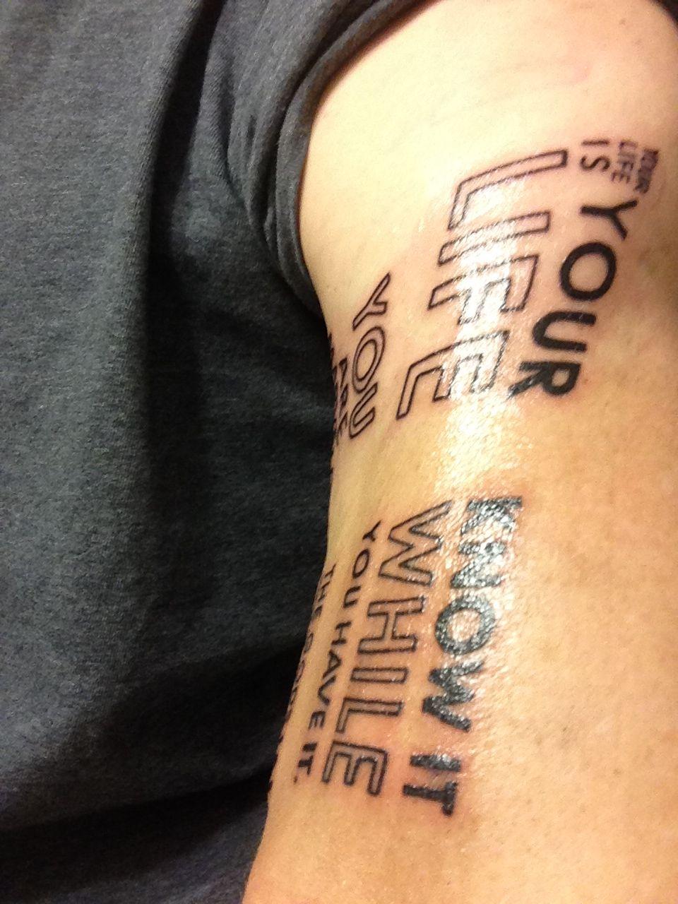 Bukowskis the laughing heart 2 of 2 tattoos tattoo
