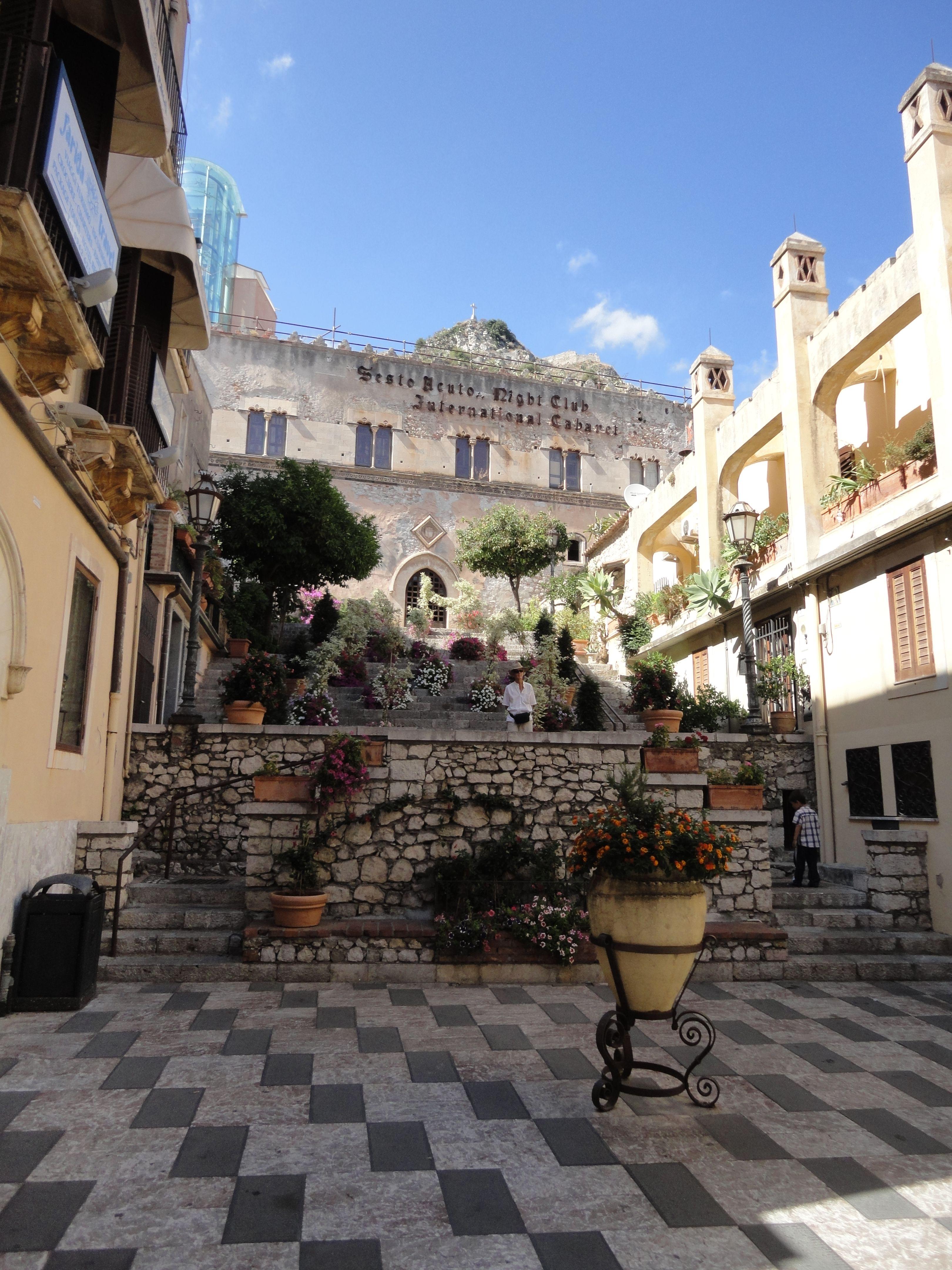 Taormina, Sicilia. Italia desborda historia desde hace