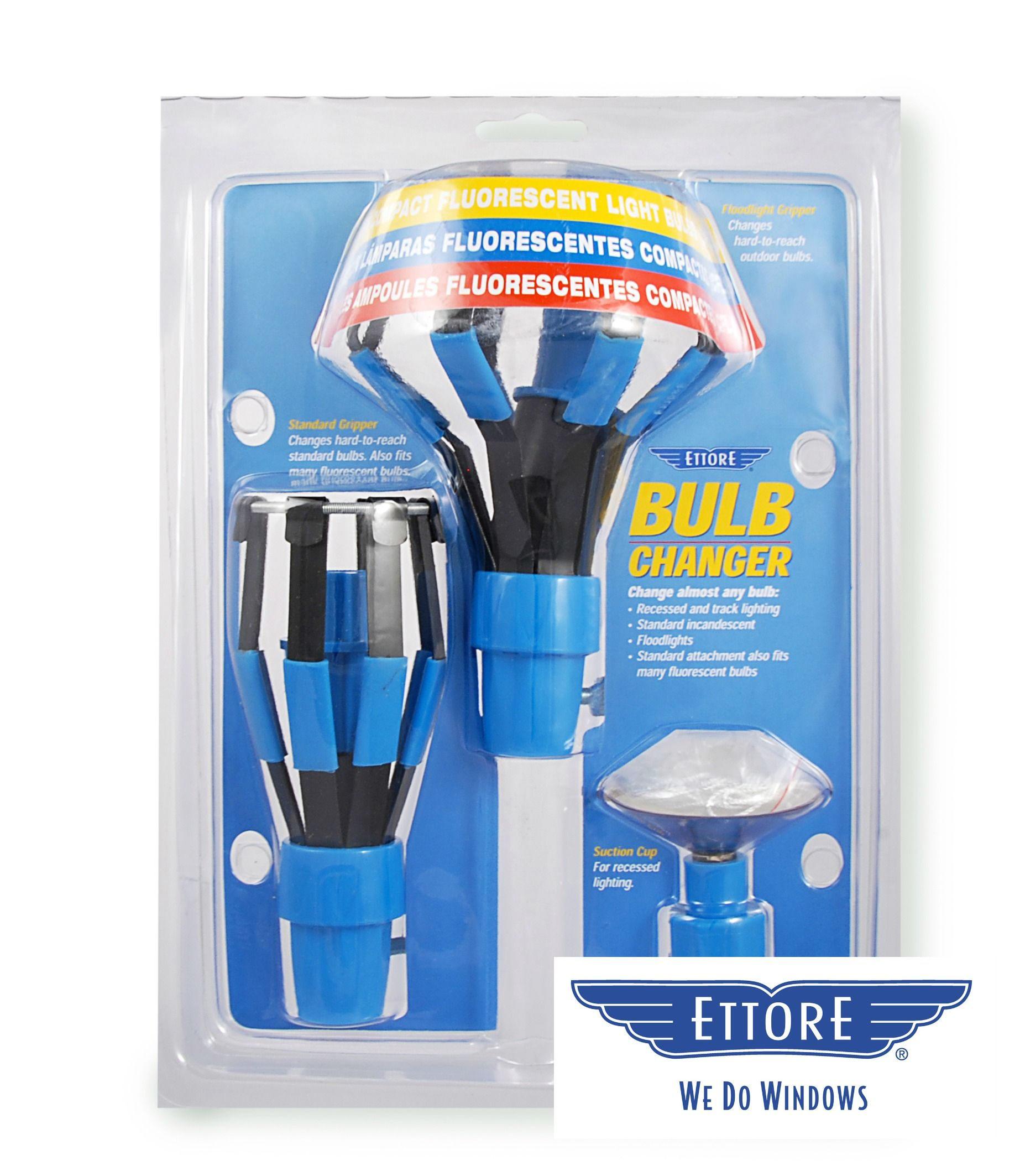 The Ettore Bulb Changer Kit Lets You Change Almost Any Type Of