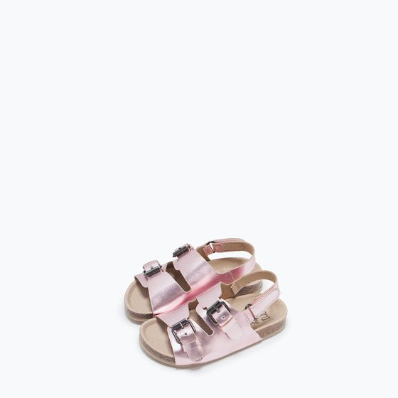 ZARA - KIDS - METALLIC SANDAL
