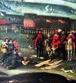 kapitulacja wojsk rosyjskich pod Smoleńskiem przed polskim królem Władysławem IV Wazą; 25 lutego 1634 r.