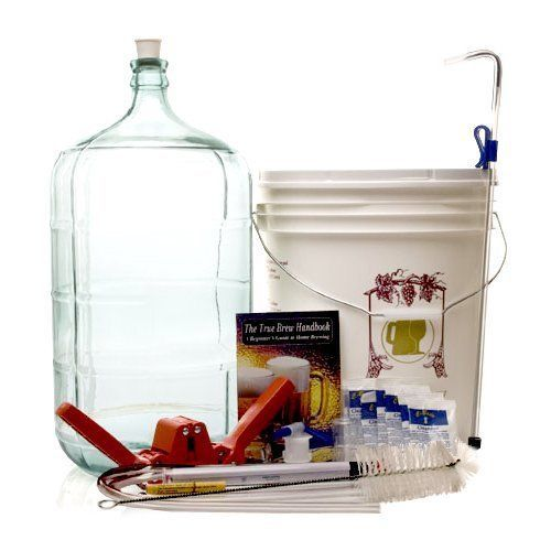 COMPLETE BEER MAKING KIT. I REALLY WANT TO START MAKING MY OWN BEER. NUM NUM NUM!