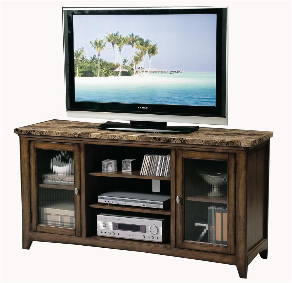 Craftsman Home 62 Media Console: Thurner 60 Inch Entertainment Console With Storage By