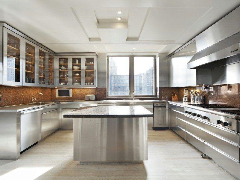 12 Room Duplex In 515 Park Avenue Asks 29 5 Million Cocinas