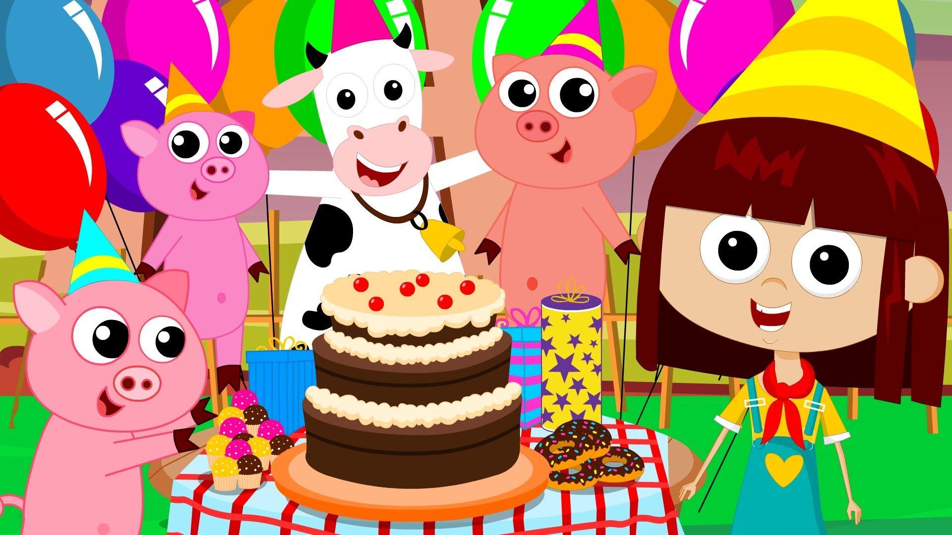 Happy Birthday Song Birthday Song Nursery Rhymes Kids Songs