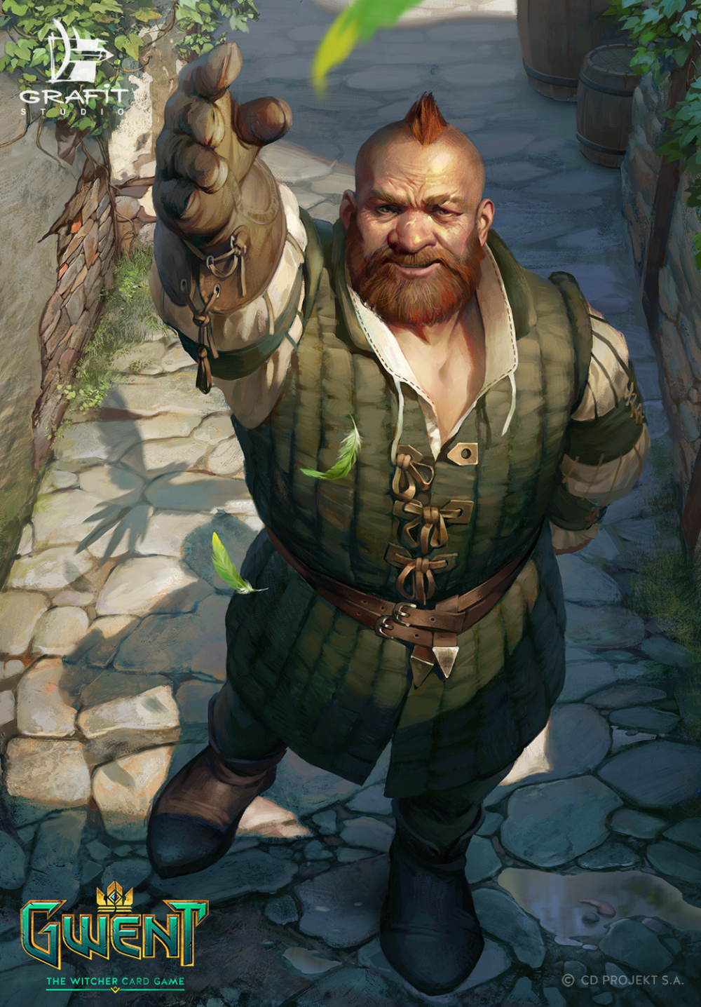 Zoltan Duda For Gwent Grafit Studio The Witcher In 2020