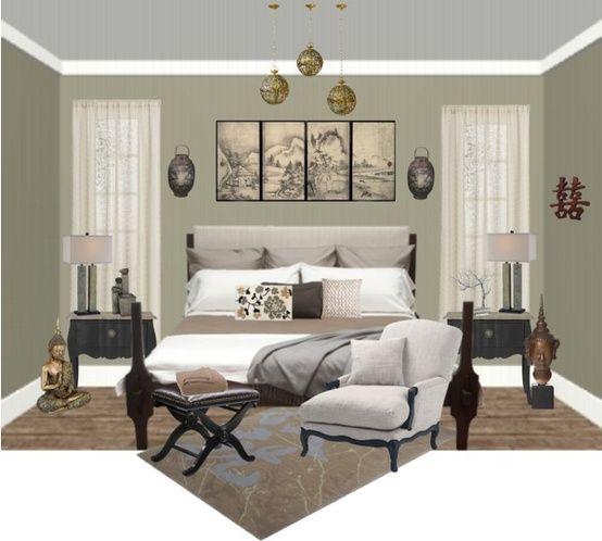 Zen Bedroom By Jayneann1809 Liked On Polyvore Zen Bedroom Zen Bedroom Decor House Furniture Design