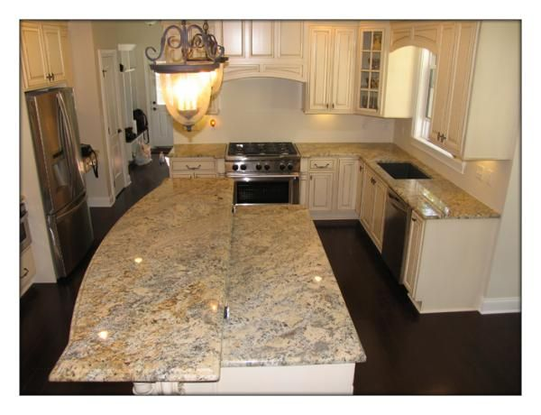 Kitchen Ideas With Cream Cabinets granite with cream cabinets | custom marble granite, absolute