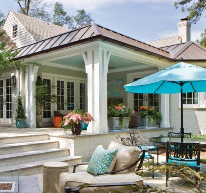 1001 ideen f r terrassengestaltung modern luxuri s und gem tlich terrasse und balkon. Black Bedroom Furniture Sets. Home Design Ideas