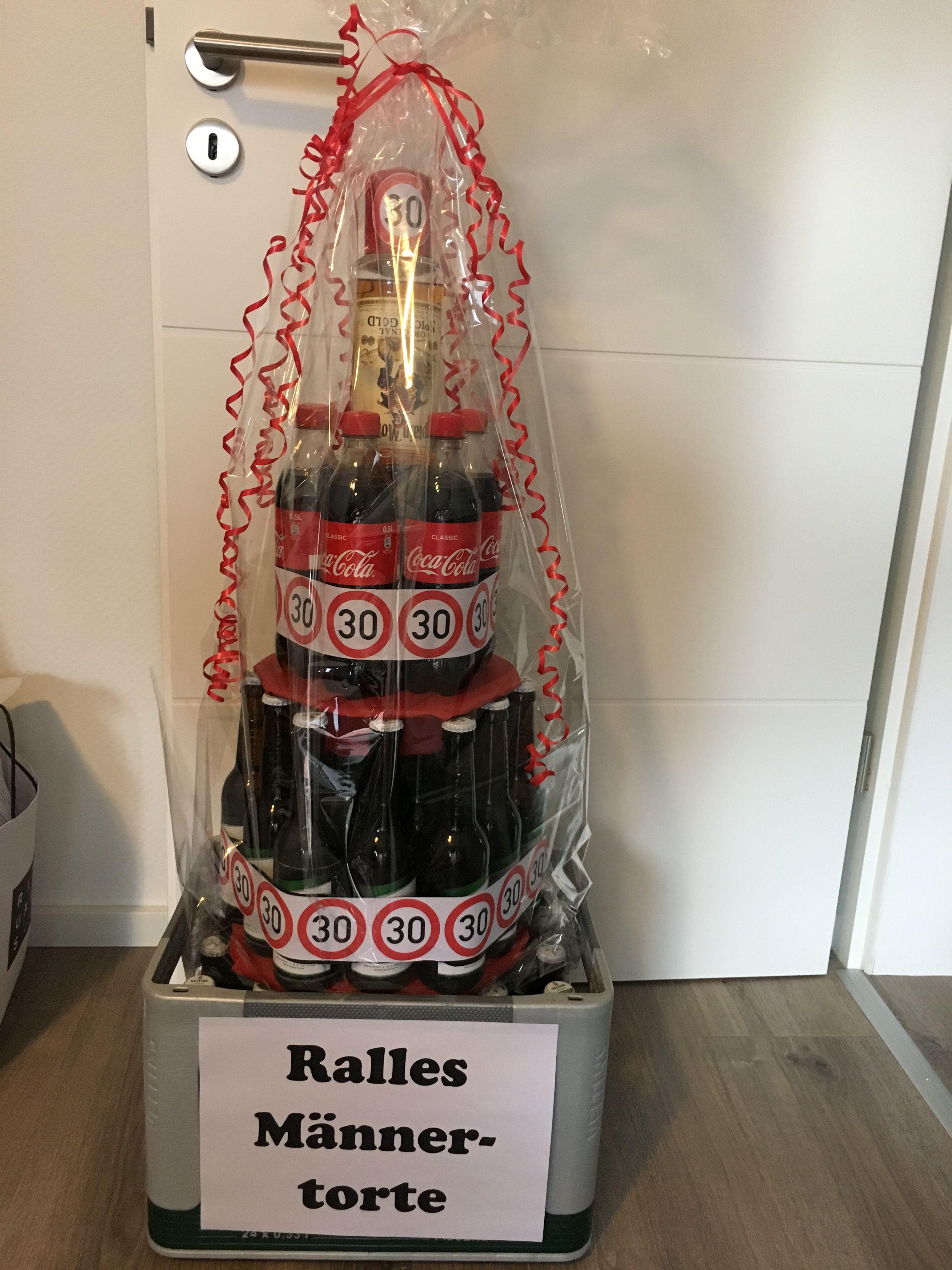 Mannertorte 30 Geburtstag Geburtstags Geschenk Mann 30