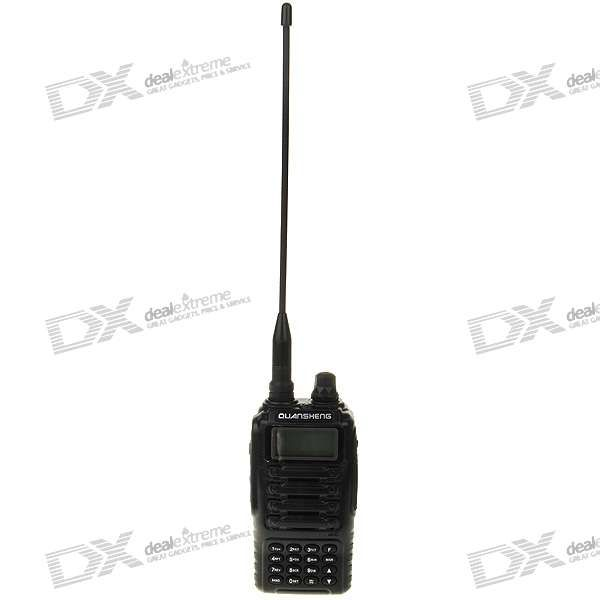 Dual Frequency Display Multi Band Walkie-Talkie with VOX/Flashlight/FM Radio (VHF/UHF)