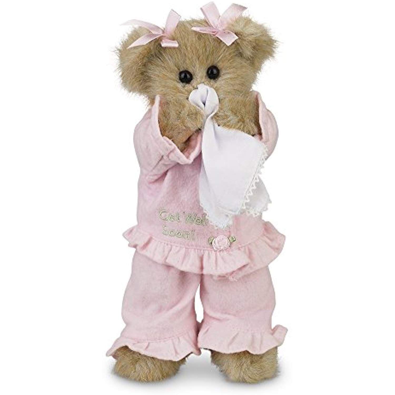 """Bearington Bear Illie Willie Get Well Soon Teddy Bear 10/"""""""