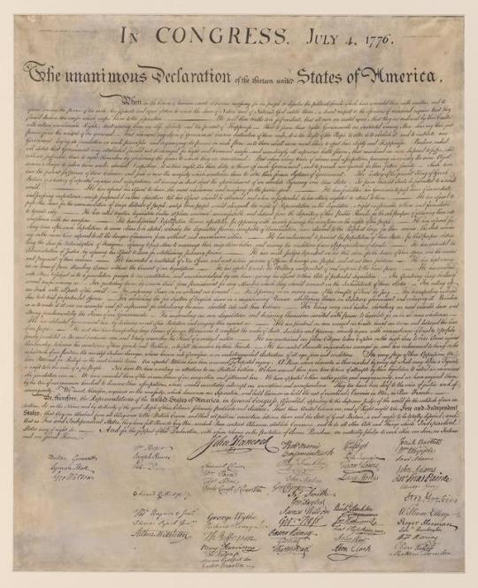 Elegant Strings Declaration Of Independence Independence Declaration