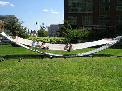 The Big Hammock Project The Rose Fitzgerald Kennedy Greenway Boston, MA