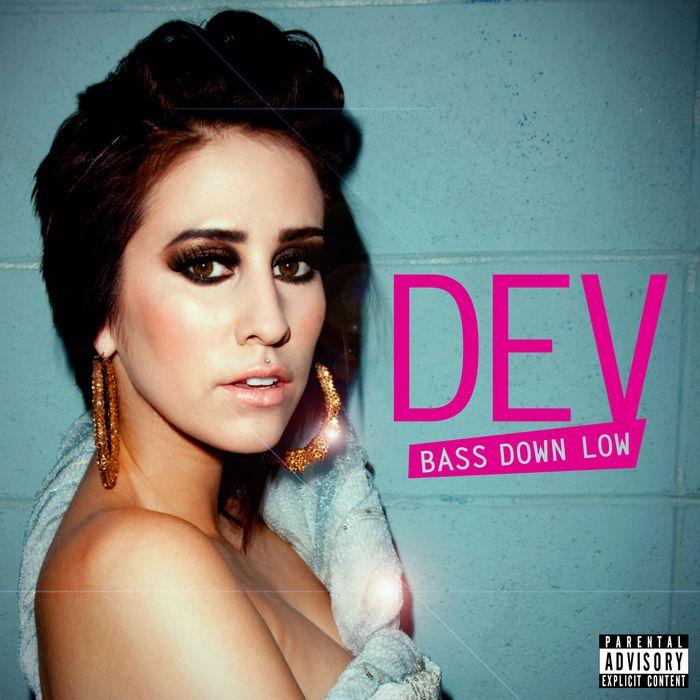 Dev, The Cataracs – Bass Down Low (single cover art)