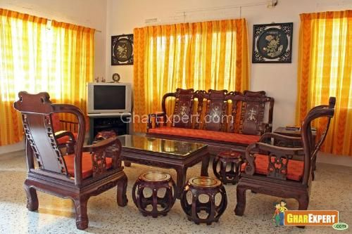 Stock Images of Antique Chinese Rosewood Furniture - Living room  furnished... - Search Stock Photos, Pictures, Photographs, and Photo Clipart