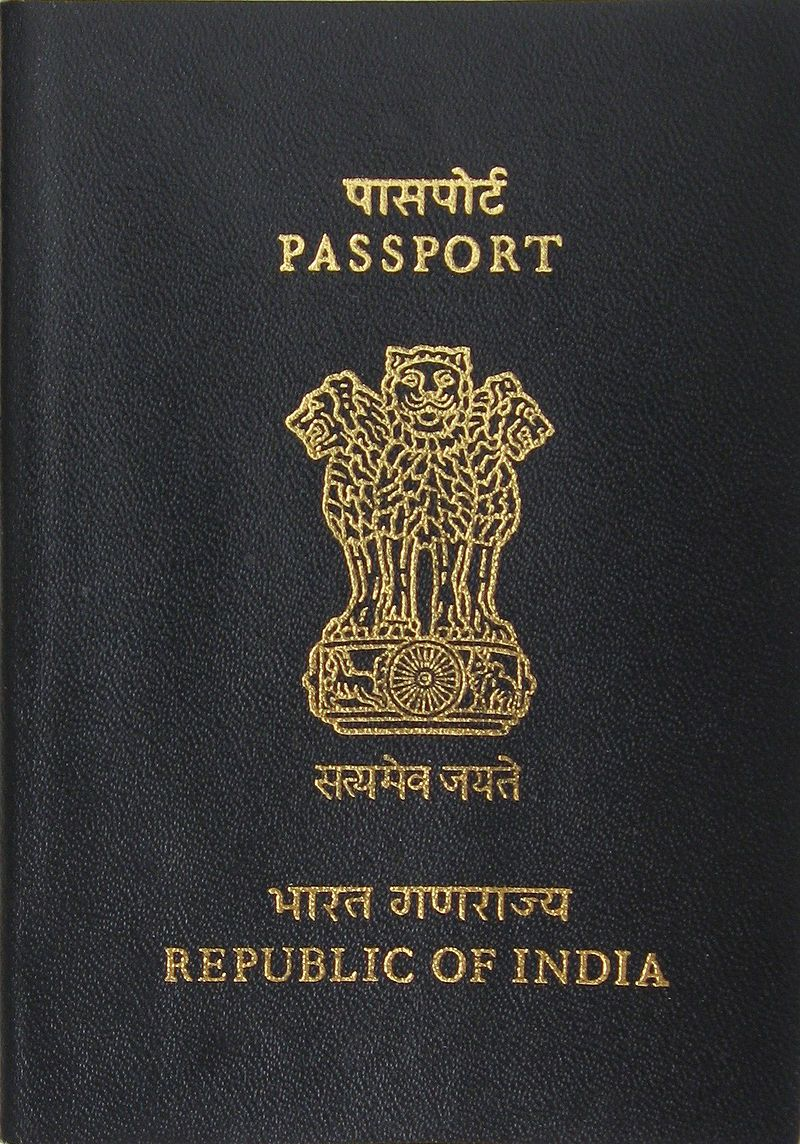 Pin By Kawinpop On Knowledge  Passport Books    India