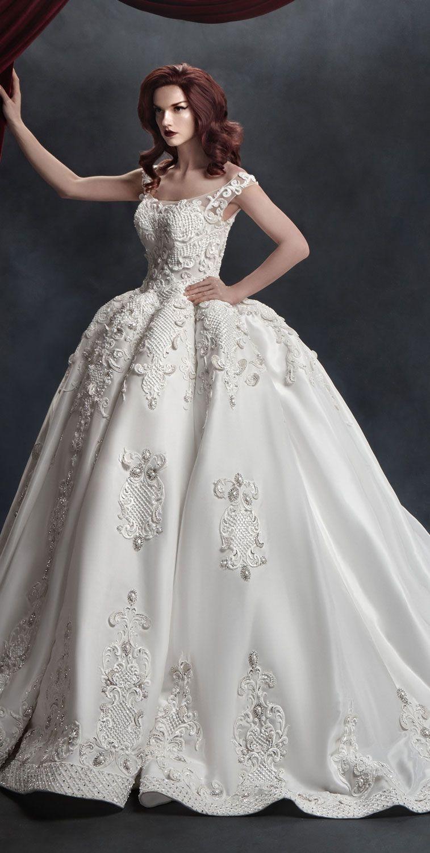 Stunning ball gown wedding dress inspiration