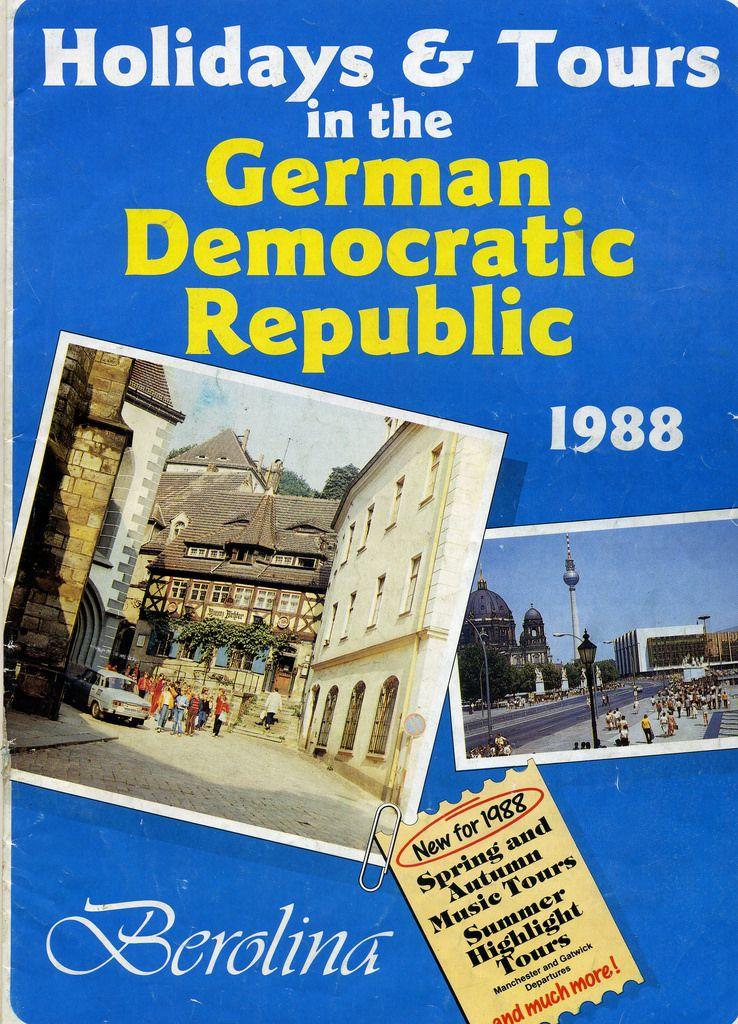 Berolina Travel brochure DDR 1988 Travel brochure
