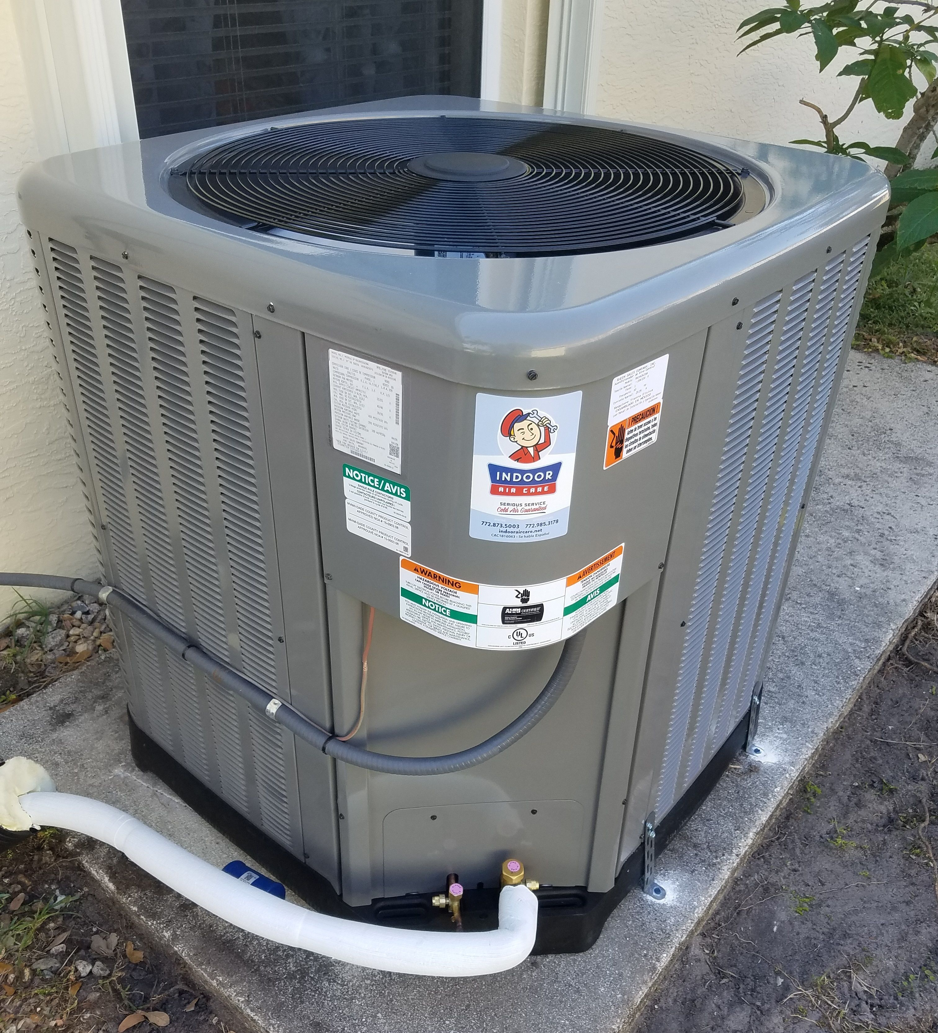 Our Technicians' expertise allows Indoor Air Care to offer