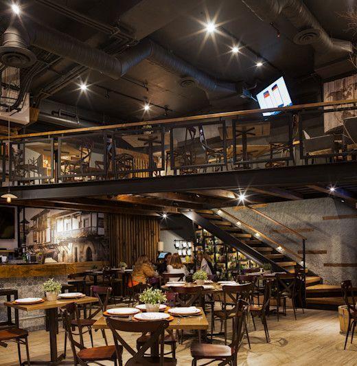 Un restaurante con diseño español en la Ciudad de México - #Ciudad #con #de #Diseño #en #español #la #Mexico. #restaurante #un