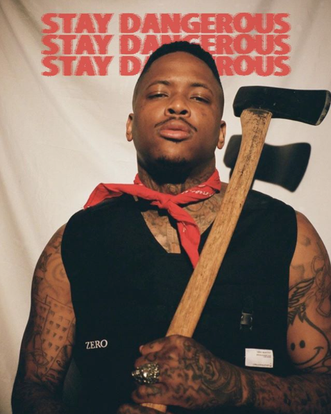 Yg 400 Stay Dangerous Album Keep It 4 Hunnid Yg Rapper Rapper Gangsta Rap