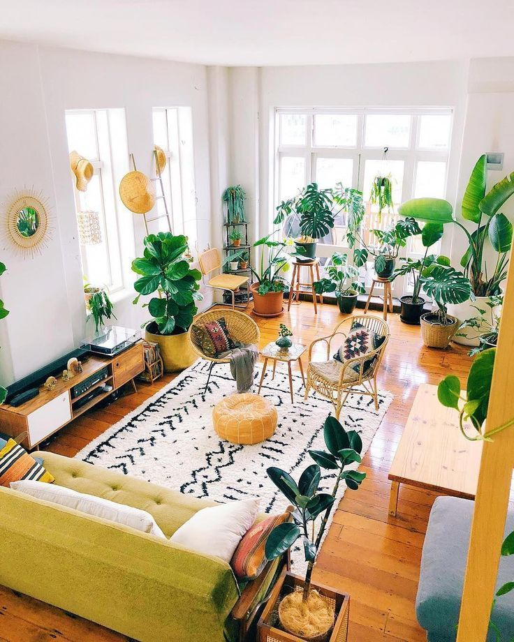 Photo of This cool loft apartment will make you want to fill your home with plants