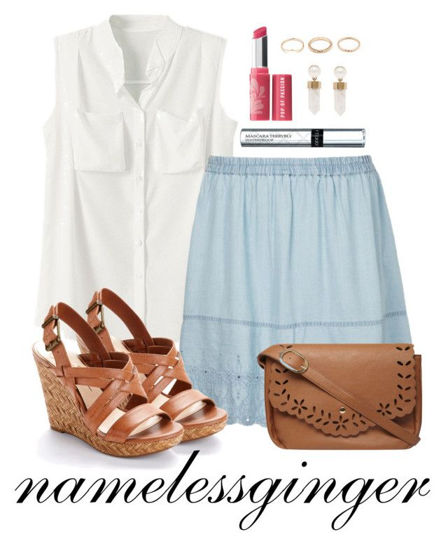 """""""untitled #186"""" by namelessginger ❤ liked on Polyvore featuring JunaRose, Jessica Simpson, Bare Escentuals, Givenchy, By Terry, Forever 21 and Dorothy Perkins"""