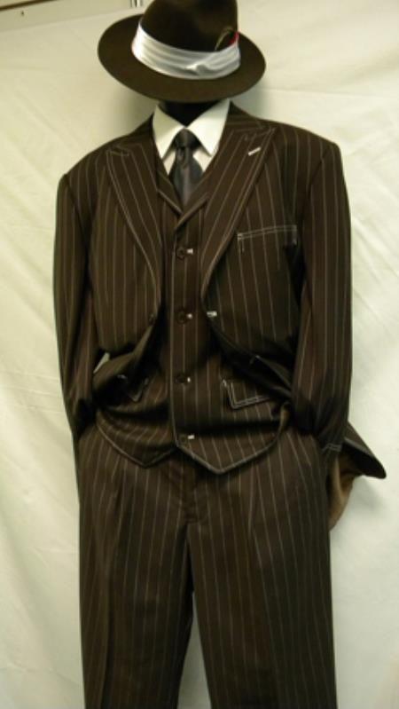 Mens Zoot Suit Gangster Suit Pachuco Suits